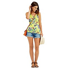 Oasis - Malay tropical print vest