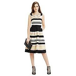 Oasis - Saffron stripe midi dress