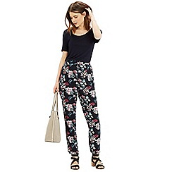 Oasis - Tropical print trouser