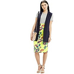 Oasis - Tropical pencil skirt