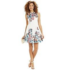 Oasis - Tropical house jacquard dress