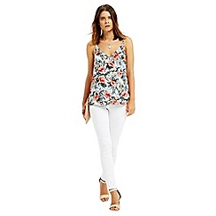 Oasis - Tropical v neck cami