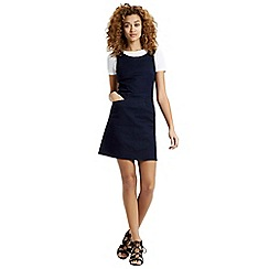 Oasis - Denim pinafore dress