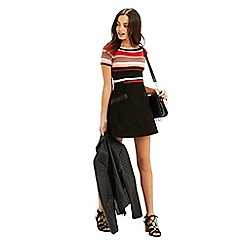 Oasis - Stripe square neck top