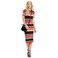 Oasis - Stripe t-shirt dress