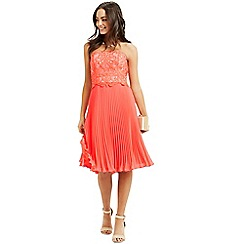 Oasis - Lace Bandeau Midi Dress