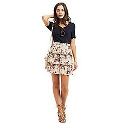 Oasis - Chintz rosanna rara skirt