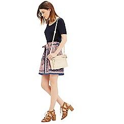 Oasis - Paisley paper bag skirt