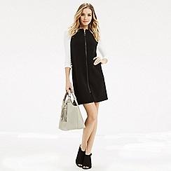 Oasis - Zip front dress