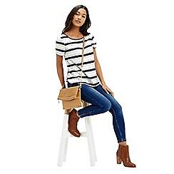 Oasis - Butterfly Stripe T-Shirt