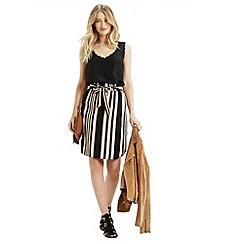 Oasis - Paperbag Stripe Skirt