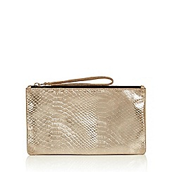 Oasis - Leather Lily Snake Purse