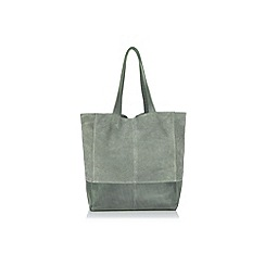 Oasis - Leather unlined shopper