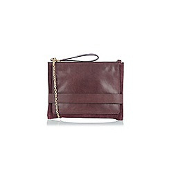 Oasis - Leather Cross-Body Clutch