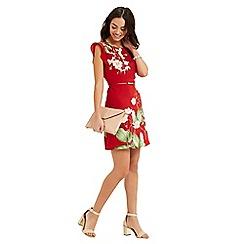 Oasis - Chelsea flutter sleeve dress