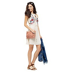 Oasis - Embroidered Tropez Dress