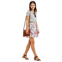 Oasis - Havana Side Frill Skirt