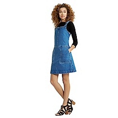 Oasis - Darcy Denim Dungaree Dress
