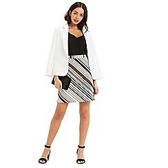 Oasis - Saffron Stripe Hattie Skirt