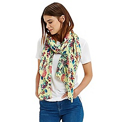 Oasis - Palm house tropical scarf
