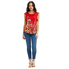 Oasis - Chelsea frill top
