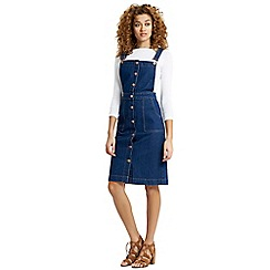 Oasis - Brooklyn dungaree dress