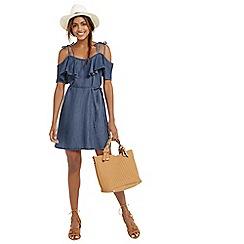 Oasis - Ruffle frill dress