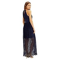 Oasis - Pleated Lace Maxi Dress
