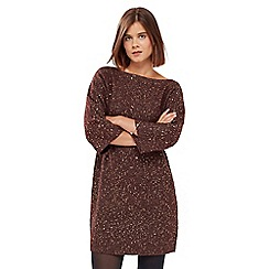 Oasis - Scattered Sequin Knit Dress