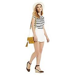 Oasis - Stripe Boatneck Top