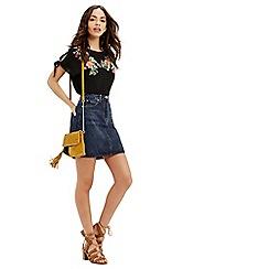 Oasis - Authentic 5 pocket mini skirt