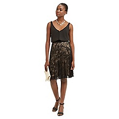 Oasis - Pleated Lace Skirt