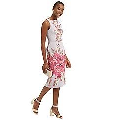 Oasis - Floral Jacquard Pencil Dress