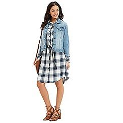Oasis - Check shirt dress