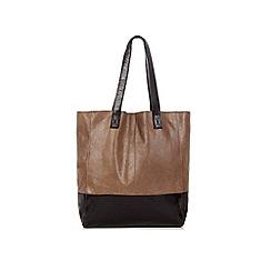 Oasis - Leather Shopper Bag