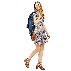 Oasis - Ditsy Frill Dress