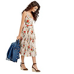Oasis - Summer Oriental Pleat Midi