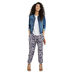Oasis - Summer Paisley Print Trouser