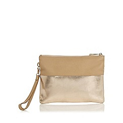 Oasis - Flossy Suede Patched Purse