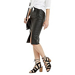 Oasis - Pintuck Wrap Pencil Skirt