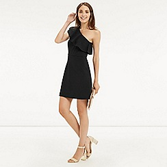 Oasis - Ruffle One Shoulder Dress