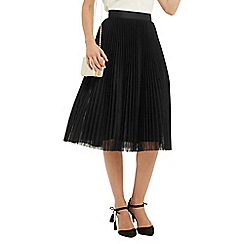 Oasis - Mesh Pleated Midi Skirt