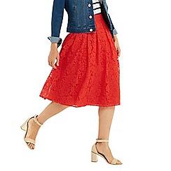 Oasis - Lace Midi Skirt