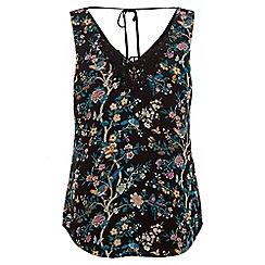 Oasis - Lace Trim V&A Vest