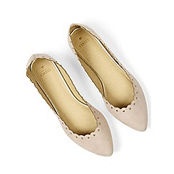 Oasis - Kate scalloped flats