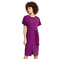 Oasis - Drape belted wiggle dress