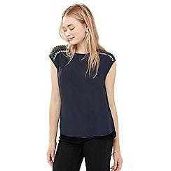 Oasis - Embellished Detail T-Shirt