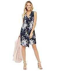 Oasis - Botanical Bouquet Silk Dress