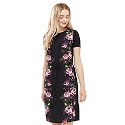 Oasis - Painted Rose Jersey Dress
