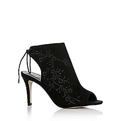 Oasis - Embroidered peep toe sandals